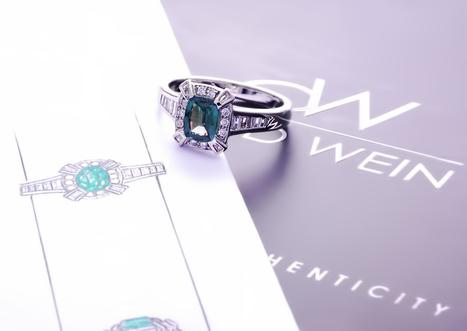 Making of Brazilian Alexandrite ring   Gemstones Trends   Scoop.it