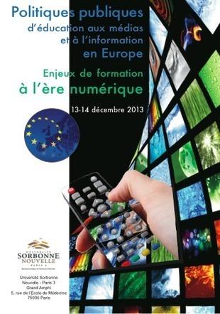 Politiques publiques d'éducation aux médias et à l'information en Europe: enjeux de formation à l'ère du numérique | Enfants et technologies - Children and technology | Scoop.it