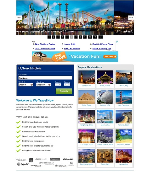 Enhance and Upgrade your Travel Business Website with Custom Solutions | Travel Site Features | Scoop.it