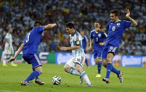 Lionel Messi Goal Today: Watch Video of Messi's Goal in World Cup Match   World Cup Video News   Scoop.it