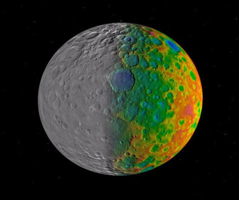 Researchers Investigate the Lack of Large Impact Craters on Ceres | Geology | Scoop.it