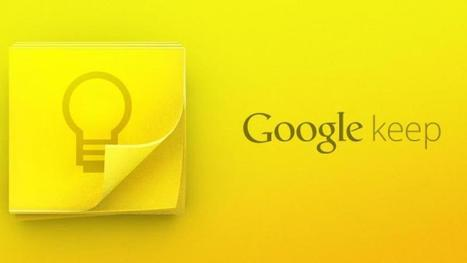 Google Keep Gets Fast Search for Text in Images | Edtech PK-12 | Scoop.it