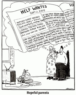 Mike Lynch Cartoons: There Is Much Truth in Old FAR SIDE Cartoon   Fisch's Ed Tech   Scoop.it