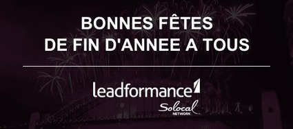 Toute l'Equipe de Leadformance vous souhaite de très bonnes fêtes de fin d'année !   Web2Store   Scoop.it