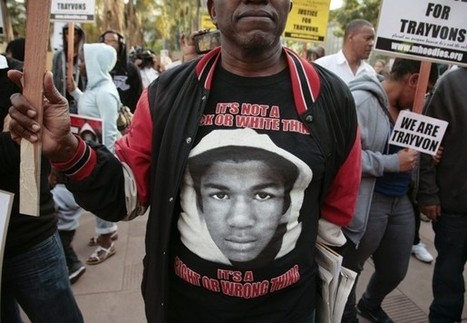 Trayvon Martin case: Poll finds stark racial divide | Cultural Geography | Scoop.it