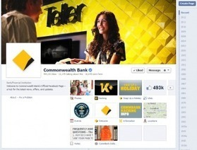 Social Banking Customer Rates Commonwealth Bank's Facebook Page 7/10 | Financial | Scoop.it