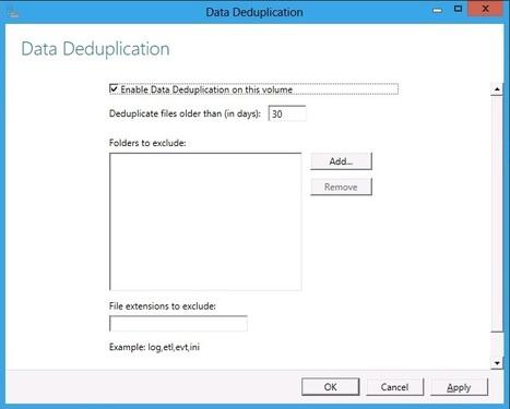 Configuring Windows Server 8 deduplication   TechRepublic   Windows Infrastructure   Scoop.it
