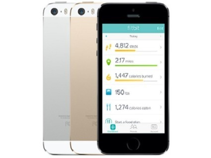 iPhone 5S : l'application Fitbit se passe de bracelet connecté | Santé digitale | Scoop.it