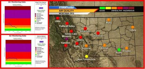 "Air quality drops to ""unhealthy"" for several major cities in Montana - KRTV Great Falls News 