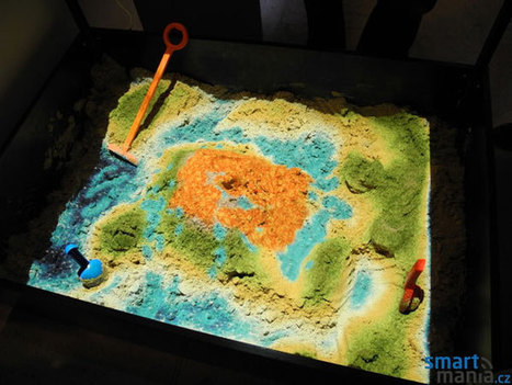 SandyStation interactive sandbox uses Kinect to make topography much more interesting (video)   Cabinet de curiosités numériques   Scoop.it