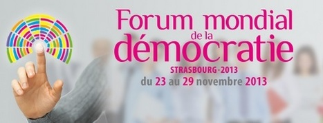 Forum mondial de la Démocratie 2013 | actions de concertation citoyenne | Scoop.it