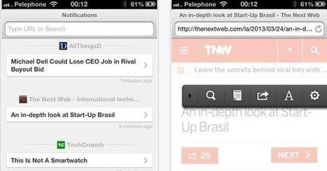 Brow.si, mezclando las funciones de navegador y lector de feeds   El Content Curator Semanal   Scoop.it