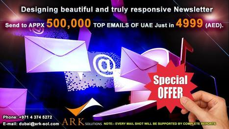 Email Marketing in Duba | Ark Solutions | Scoop.it