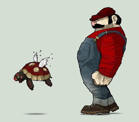 Mario fan art | Roi Boo News | Scoop.it