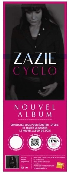 Première campagne d'affichage interactif NFC à Paris pour Universal Music | Eco Tourisme et Développement Durable | Scoop.it