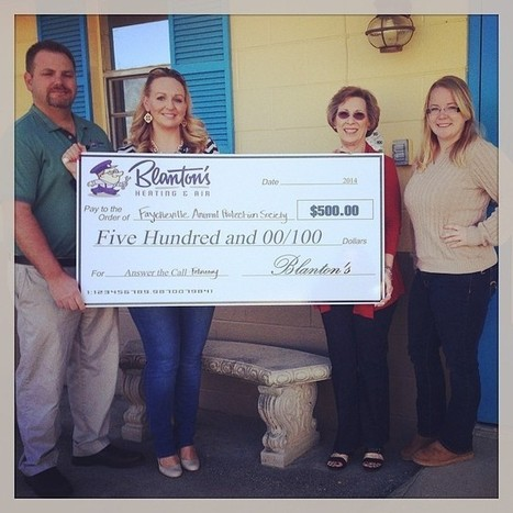 Congratulations to the Fayetteville Animal Protection Society! | HVAC & Air Conditioning Repair | Scoop.it
