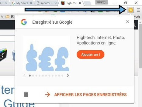 """Save to Google"" : une extension Chrome pour définir une page web à lire plus tard...  