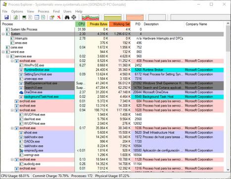 Windows Sysinternals: la navaja suiza para administrar sistemas | Office a full | Scoop.it