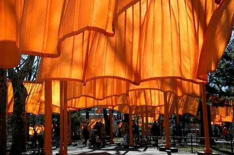 Christo and Jeanne-Claude | Art Installations, Sculpture, Contemporary Art | Scoop.it
