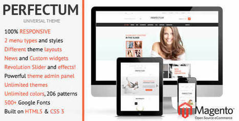 21+ Best New Responsive Magento Themes - WebDesignBoom | Creative Web Design Themes | Scoop.it