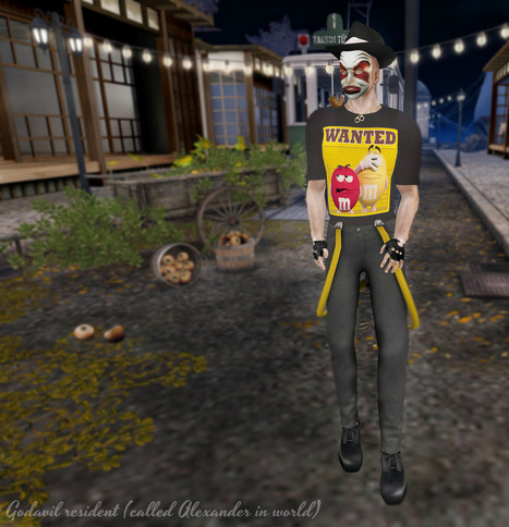 Fashion + Freebies for Men: The mask ... | Freebies and cheapies in second life. | Scoop.it