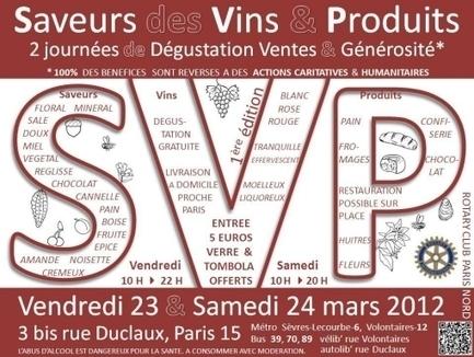 SVP : Saveurs des Vins & des Produits Rotary Paris Nord - Rotary Paris-Nord | domaine de pailhès | Scoop.it