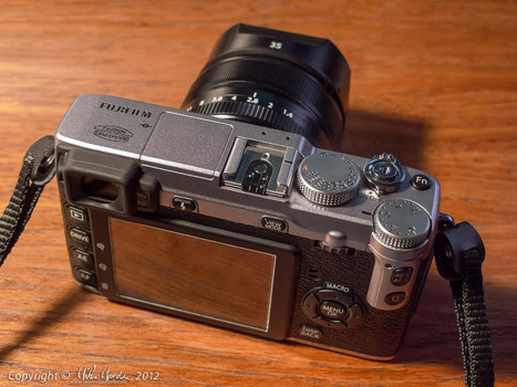 Mike Mander's Photo & Imaging Blog: Distraction: The new Fujifilm X-E1 | Fujifilm X-E1 | Scoop.it