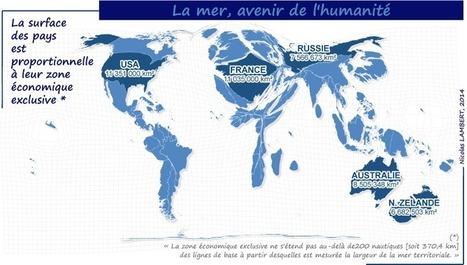 [CARTE] L'économie de la mer, horizon politique | Carnetcartographique | Revue de tweets | Scoop.it