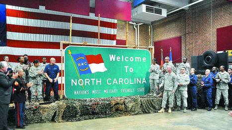 Is NC really the most military friendly? - Fayetteville Observer | World Intel | Scoop.it