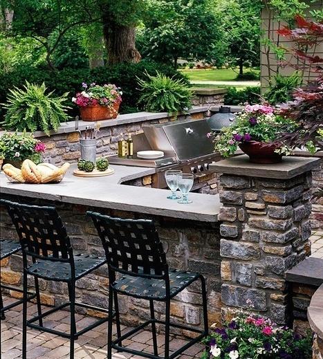 Functional Outdoor Kitchen | Arquitetura e Design | Scoop.it
