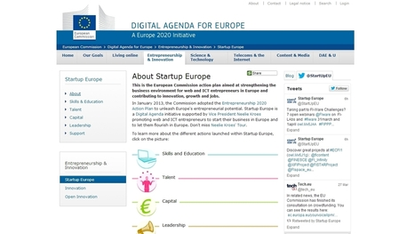 Startup Europe: European Commission to foster Web Talent through MOOCs | Higher Education and more... | Scoop.it