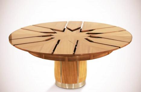 TLD Toute La Decoration   Amazing Fletcher Capstan table   Mobilier d'exception   Scoop.it