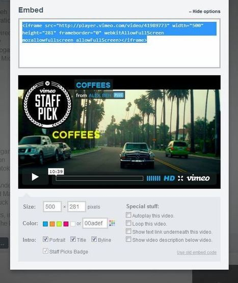 How to Embed YouTube and Vimeo in Moodle | MoodleThailand | Scoop.it