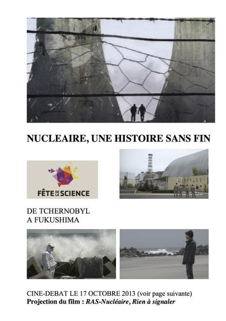 Ciné-débat autour du film « RAS-Nucléaire, rien à signaler » le 17 octobre 2013 à Brétigny   Le Côté Obscur du Nucléaire Français   Scoop.it