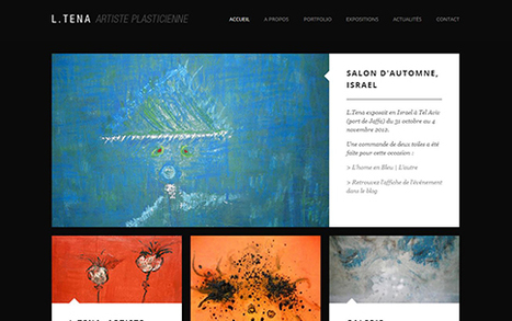 L.Tena - Artiste plasticienne | Last Portfolio | Scoop.it