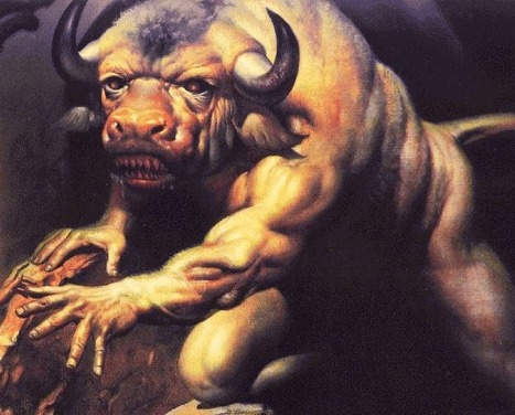 Ophiotaurus, Stygian Bull: Serpent-tailed bull of Tartarus | They were here and might return | Scoop.it