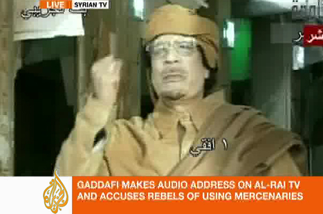 Gaddafi vows to continue fight - Africa - Al Jazeera English | Human Rights and the Will to be free | Scoop.it