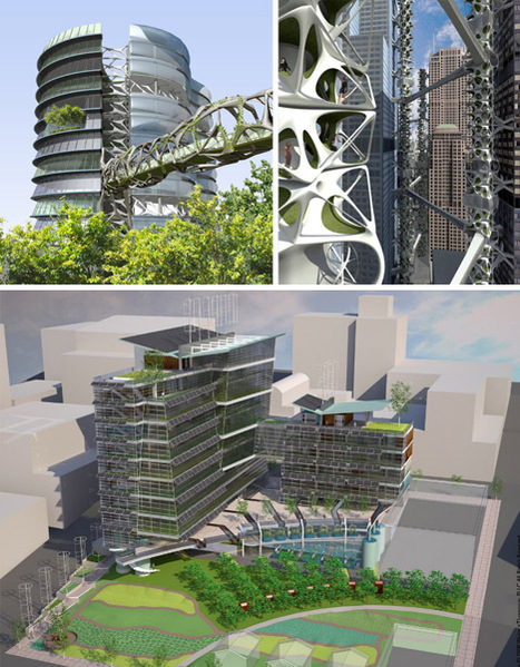 Green in 3D: 16 Vertical Farm & Skyscraper Park Designs | Designs & Ideas on Dornob | Rendons visibles l'architecture et les architectes | Scoop.it