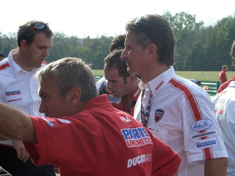Davide Tardozzi returns to Ducati | Ductalk Ducati News | Scoop.it