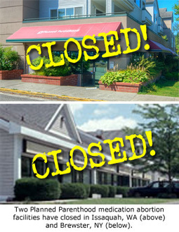 Planned Parenthood Permanently Closes Abortion Clinics in New York and Washington | Life Vigil | Scoop.it