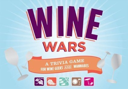 Wine Wars: A Trivia Game for Wine Geeks and Wannabes | Game Accessories | Wine cellar | Scoop.it