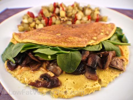 Low Fat Vegan Silken Tofu Omelet   Veganism   Scoop.it