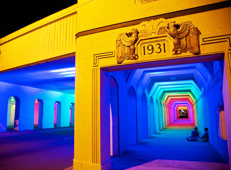 Abandoned Underpass Brightened Up with Thousands of Colourful LED Lights   Lighting Ideas   Scoop.it