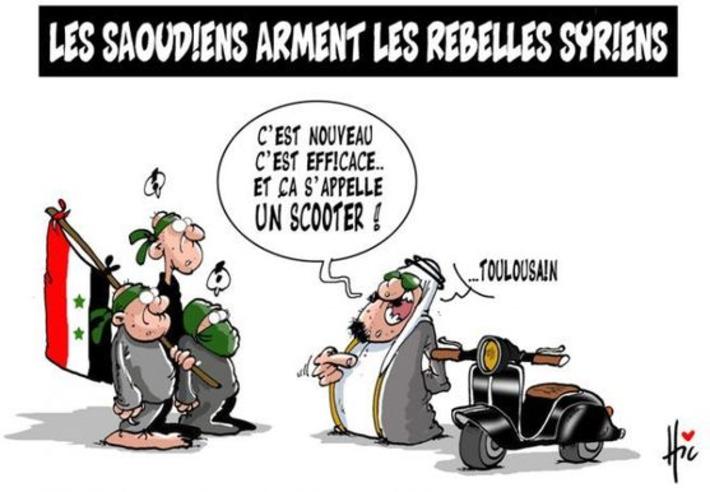Les Saoudiens arment les rebelles Syriens | Baie d'humour | Scoop.it