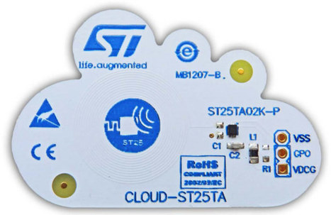 STMicro Introduces $5 CLOUD-ST25TA NFC Evaluation Board | Embedded Systems News | Scoop.it