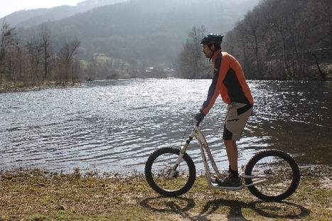 De la trottinette de descente en Aveyron ! | L'info tourisme en Aveyron | Scoop.it