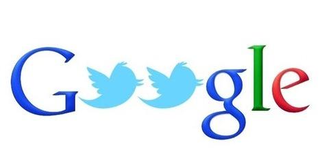 Google et Twitter s'apprêtent à afficher vos contenus dans la Timeline et les SERP - Arobasenet.com | Going social | Scoop.it