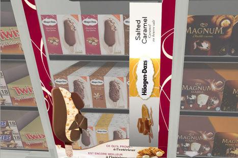 Häagen-Dazs utilise la réalité virtuelle pour mettre en scène ses produits en magasins | La révolution numérique - Digital Revolution | Scoop.it