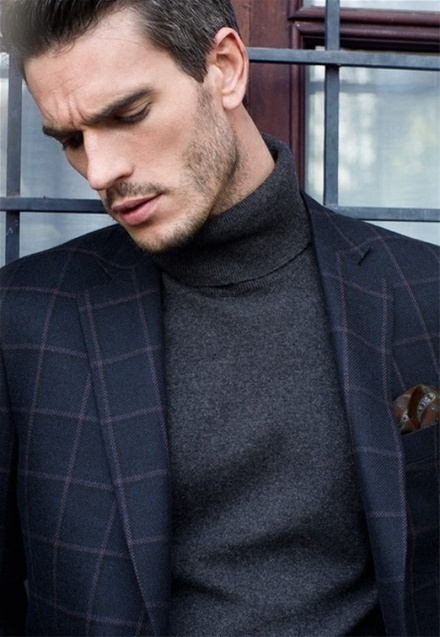 Turtleneck Sweater and Blazer for Men, a Combination that Never Fails | Fashion for all man kind | Scoop.it