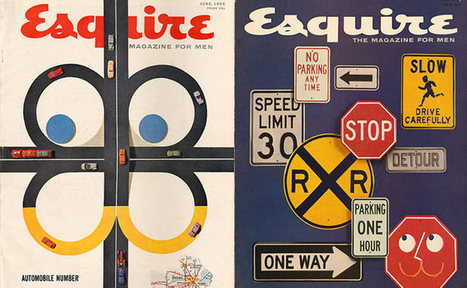 """Cool and Classic """"Esquire"""" Covers on Travel and Cars  